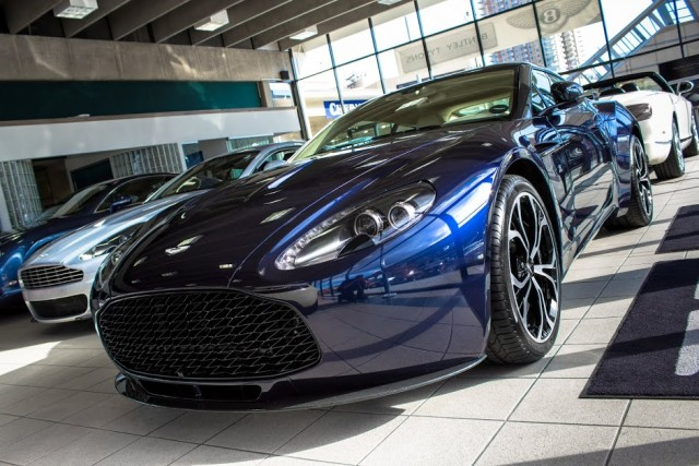 A la venta un Aston Martin V12 Zagato 1