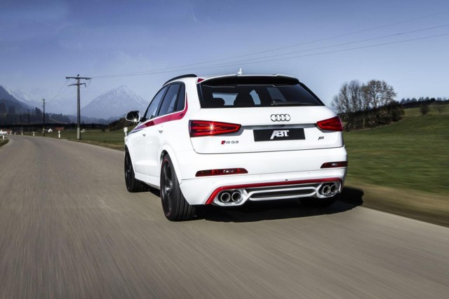 ABT se atreve con el Audi RS Q3 2
