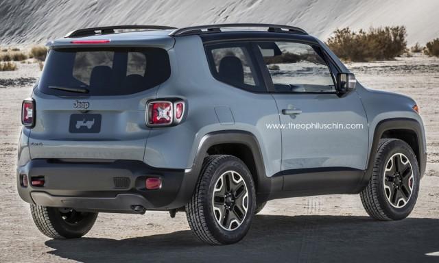 Así será el Jeep Renegade de 3 puertas 2