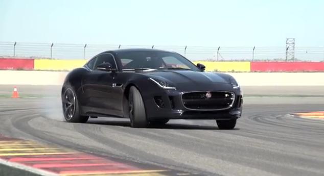 Chris Harris nos muestra de qué es capaz el Jaguar F-Type Coupe R 1