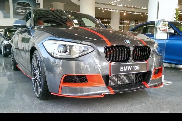 El BMW M135i M Performance Edition Abu Dhabi-Style es una realidad 1