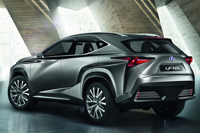 El Lexus NX se dejará ver en Pekín 2