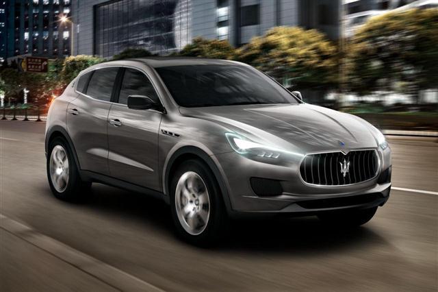 El Maserati Levante llegará en 2015 2
