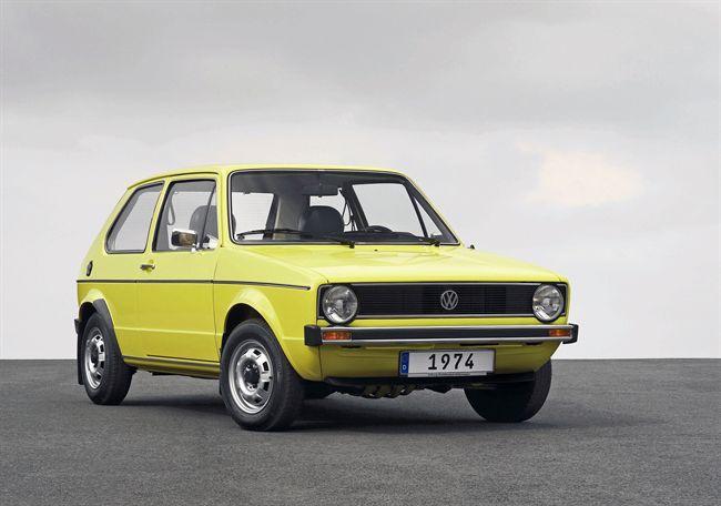 El Volkswagen Golf cumple 40 años 1