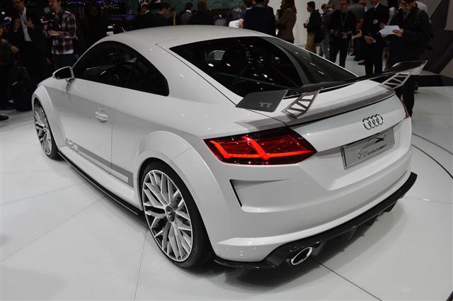 Ginebra 2014: Audi TT Quattro Sport Concept 3