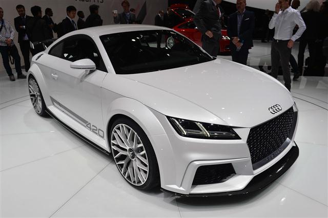Ginebra 2014: Audi TT Quattro Sport Concept 4