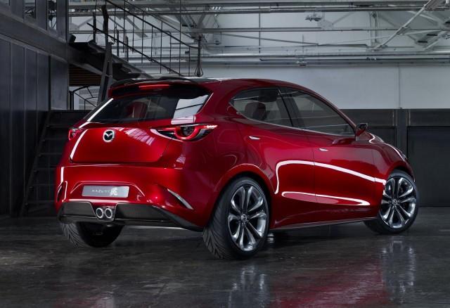 Ginebra 2014: desvelado el Mazda Hazumi Concept 1