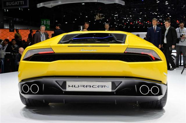 Ginebra 2014: Lamborghini Huracán 1