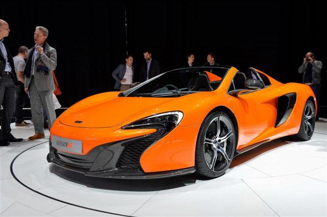 Ginebra 2014: McLaren 650S Spider 4