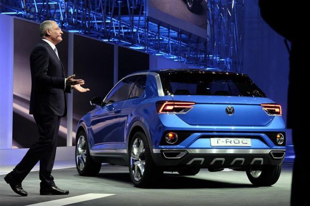 Ginebra 2014: Volkswagen T-ROC 3