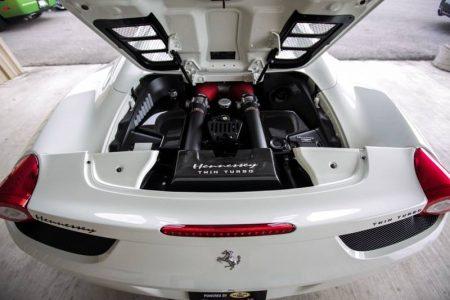 Hennessey Performance nos muestra su Ferrari 458 Spider