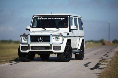 Mercedes G63 AMG HPE700 por Hennessey Performance