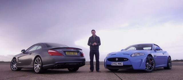 Jaguar XKR-S vs Mercedes SL63 AMG, duelo de descapotables 1