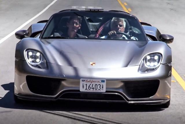 Jay Leno se enamora del Porsche 918 Spyder 1