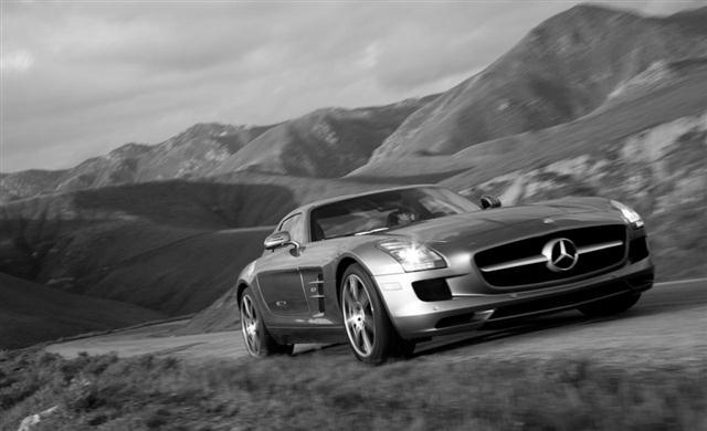 El Mercedes AMG GT será V8 de punta a punta