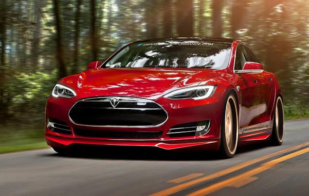 Mejora estéticamente tu Tesla Model S gracias a Unplugged Performance 2