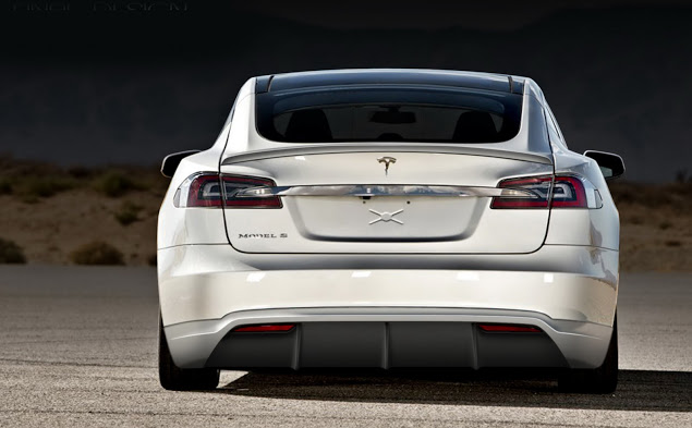 Mejora estéticamente tu Tesla Model S gracias a Unplugged Performance 5