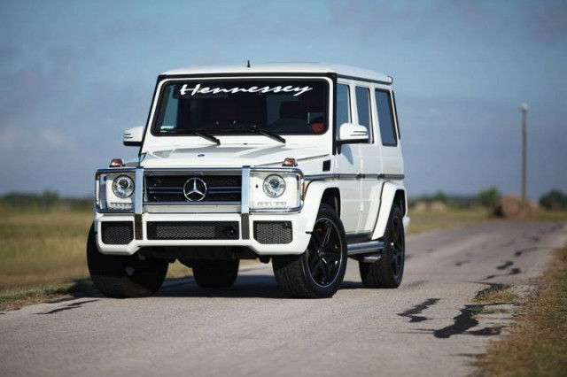 Mercedes G63 AMG HPE700 por Hennessey Performance 1