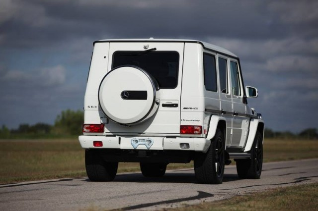 Mercedes G63 AMG HPE700 por Hennessey Performance 3