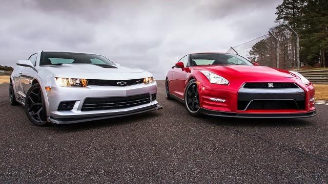 Nissan GT-R vs Chevrolet Camaro Z/28 1