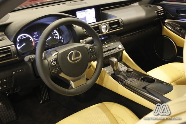 Presentación en Madrid del Lexus RC 3