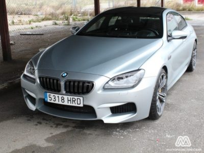 Prueba: BMW M6 Gran Coupé (equipamiento, comportamiento, conclusión)