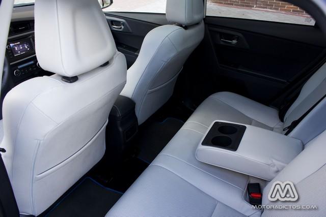 Prueba: Toyota Auris HSD híbrido (diseño, habitáculo, mecánica) 7
