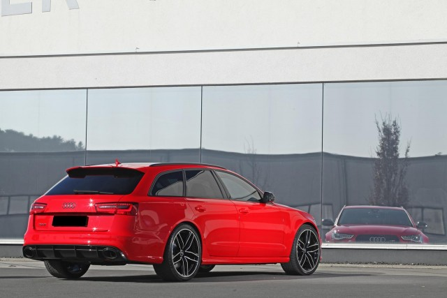 Audi RS6 Avant bajo el rodillo de HPerformance 1