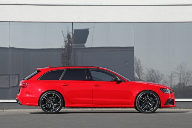 Audi RS6 Avant bajo el rodillo de HPerformance 2