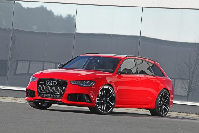 Audi RS6 Avant bajo el rodillo de HPerformance 3