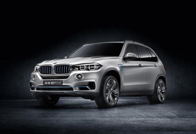El BMW X5 eDrive estará en Nueva York 2