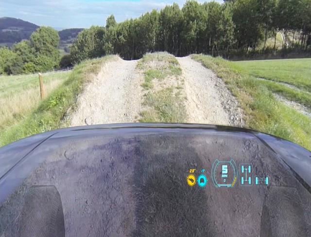 El capó transparente de Land Rover: en vídeo 2