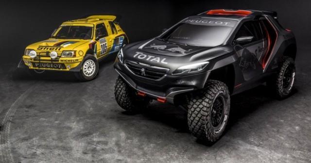 El Peugeot 2008 DKR, un prototipo con el que ganar el Dakar 3