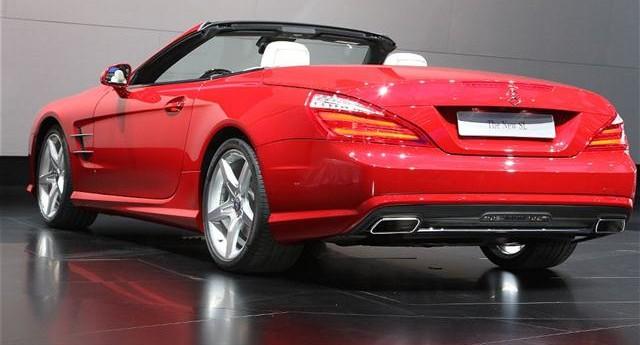 El próximo Mercedes SL podría perder su techo duro retráctil 2