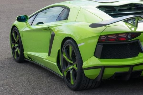 FAB Design Spidron, un extra de potencia para tu Lamborghini Aventador 2