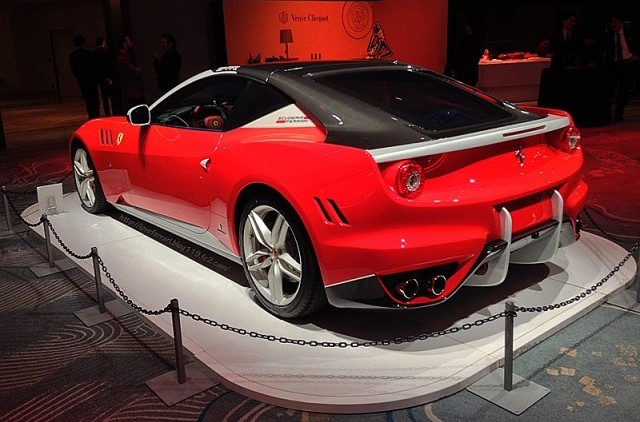 Filtradas las primeras imágenes del Ferrari SP FFX 2