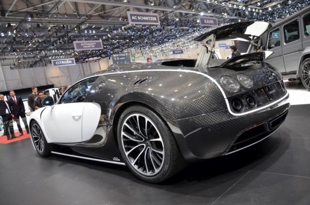 Hazte con el único Bugatti Veyron Vivere por 2.5 millones de euros