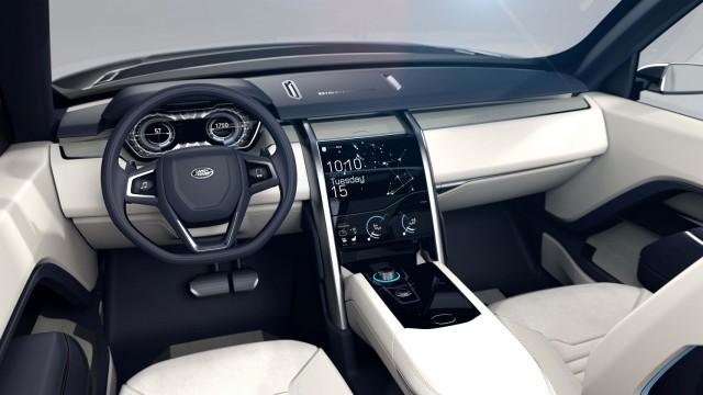 Land Rover Discovery Vision Concept: anticipando el futuro 2