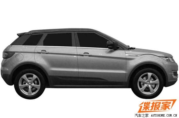 LandWind X7: Un clon chino del Range Rover Evoque 2