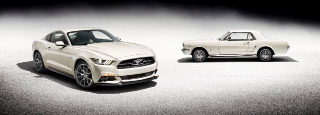 Llega el Ford Mustang 50 Year Limited Edition 2