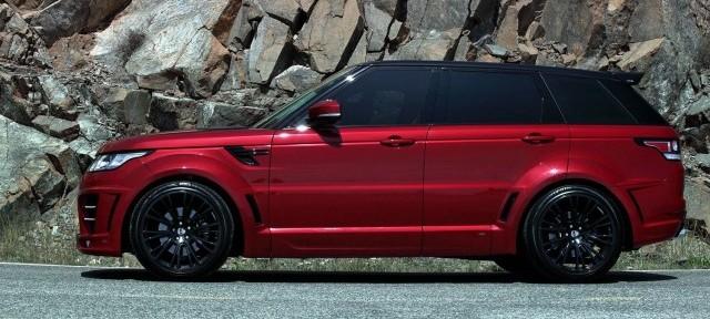 Lumma Design nos presenta su Range Rover CLR RS 2