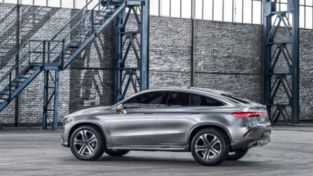Mercedes-Benz Concept Coupé SUV 2