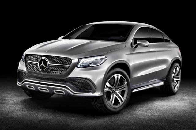 El Mercedes MLC debutará en el NAIAS