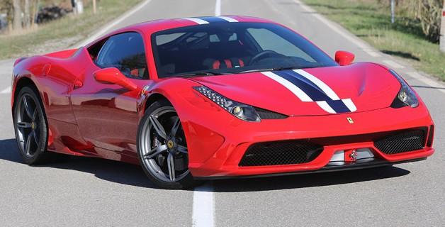 Motor turbo para el sustituto del Ferrari 458 Italia 1