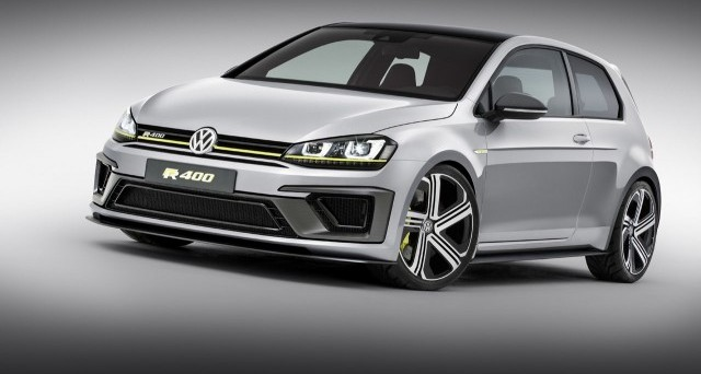 Oficial: Volkswagen Golf R400 Concept 1