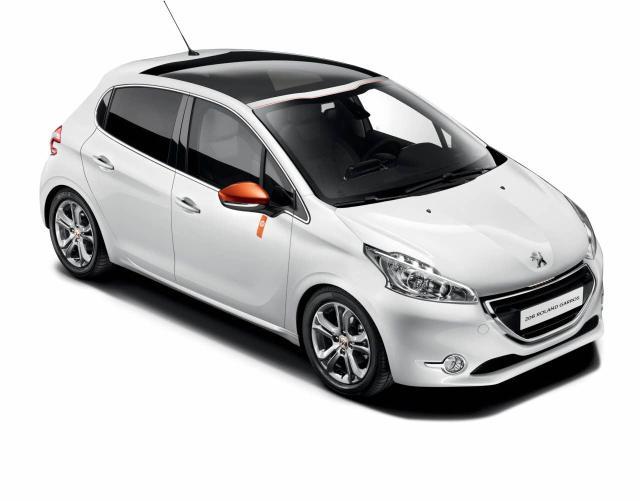 Peugeot 208: Edición 'Roland Garros' 2