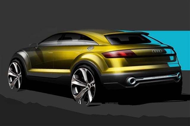 Primeros bocetos oficiales del Audi Q4 1