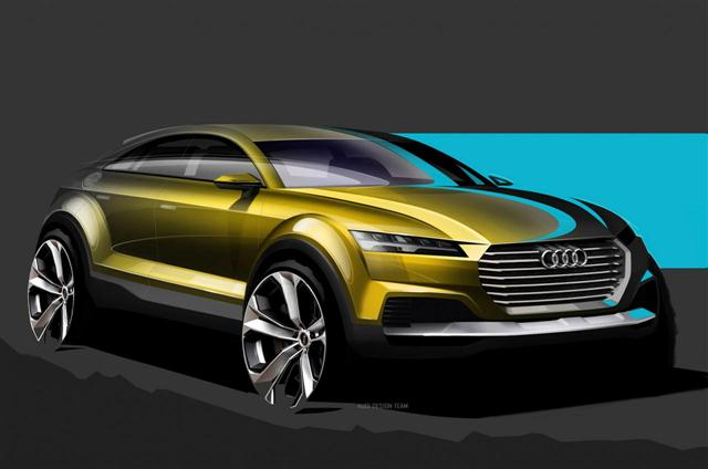 Primeros bocetos oficiales del Audi Q4 2