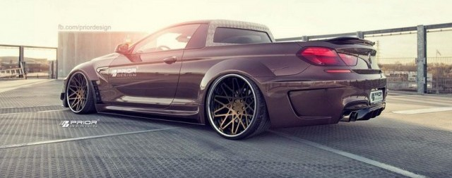 Prior Design convierte tu BMW M6 en toda una pick-up 3