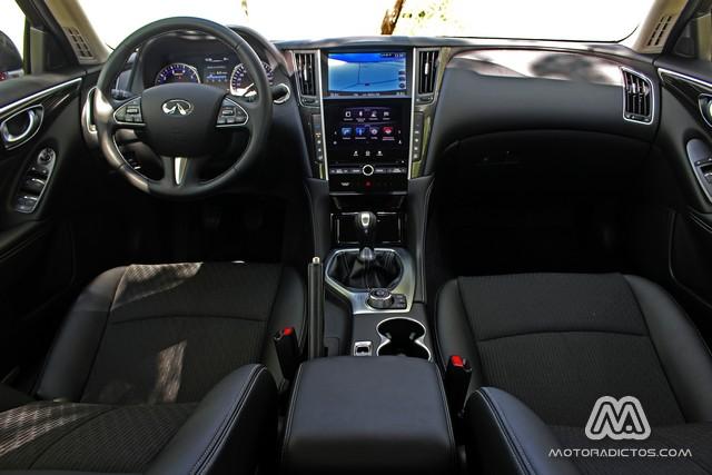 Prueba: Infiniti Q50 2.2d GT (diseño, habitáculo, mecánica) 8